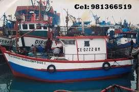Venta de Embarcación Pesquera Artesanal