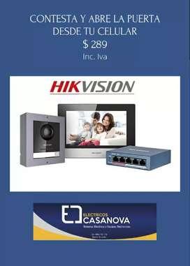 Video portero IP Hikvision