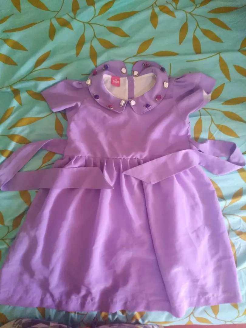 Vestido para fiesta de niña 0