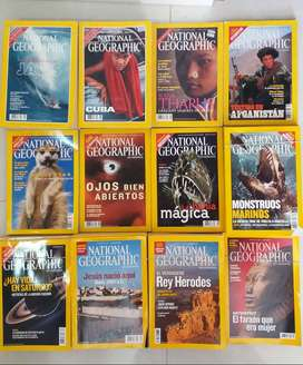 REVISTAS NATIONAL GEOGRAFIC