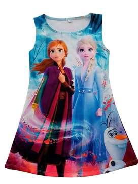 Vestido Frozen 2