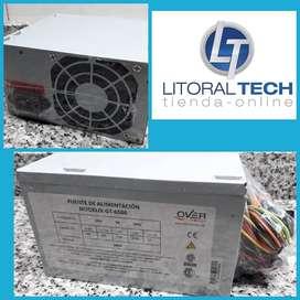 Fuente ATX 500 watts, OVERTECH