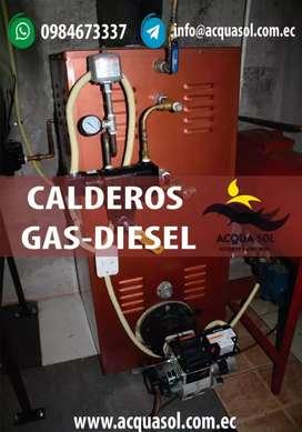 Calderos a gas y diesel