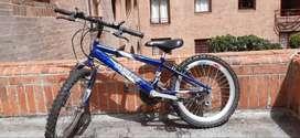Bicicleta básica para niño