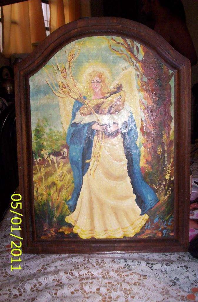 cuadro de la colección de Magdalena Najle, Ángel del Pan 0