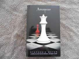 Libro Amanecer - Stephenie Meyer saga crepusculo