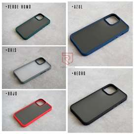 Case Funda Iphone 12 / 12 Pro Mate Antihuellas