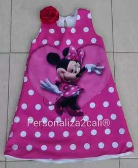 Hermosa Batica Personalizada Minnie