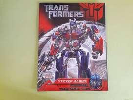 Art 206 Album de Figuritas Transformers con 41 Figuritas