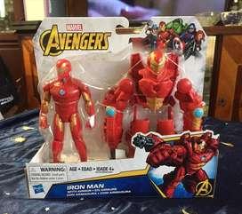 Iron man clasico . Hasbro original nuevo sellado