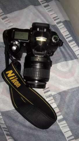 Camara nikon d50 lente 18.55