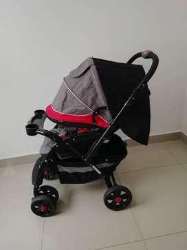 Vendo coche de bebé + portabebé