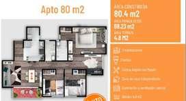 Apartamento Mosquera 3 Habitaciones Y 2 Baños