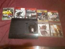 Ps3 superslim 500gb . Permuto