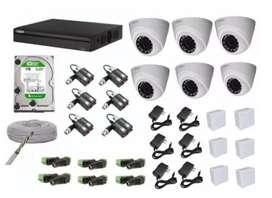 Sistema de Camaras para vigilancia.
