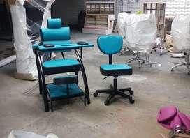 mueble para manos y pies, peluquería