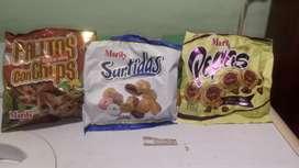 Se vende galletitas xr mayor y menor