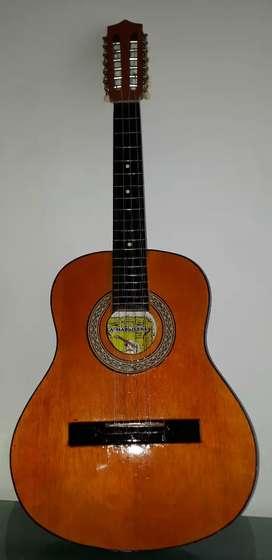 Tiple Requinto 12 Cuerdas Acústico Usado Instrumento Musical