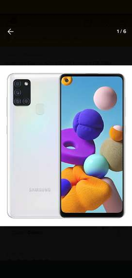 Samsung A21s 6,5' 128g 4 ram 8 núcleoscleoss