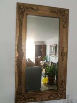 Vendo espejo en hojilla