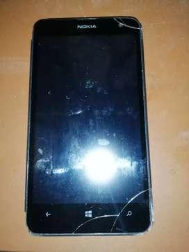 Celular para repuesto nokia lumia 625