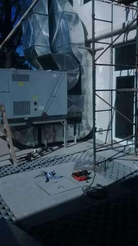 Conductos extracción e inyección aire acondicionado