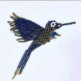 Colibri en mostacilla