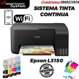 Impresora Multifunción Epson Ecotank L3150 WIFI