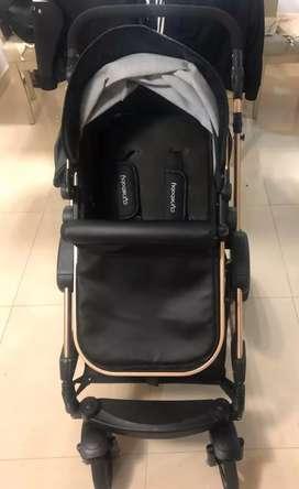 Se vende coche para bebe marca cinebaby original como nuevo con solo 2 meses de udo