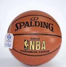 Balon Baloncesto Basketball Spalding 100 % Original en Cuero
