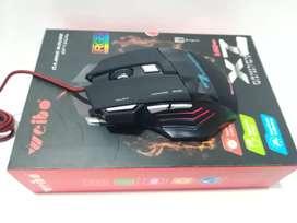 Mouse Gamer x 7 dpi configurables
