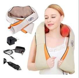 cuello masajeador cervical para dipeferentes zonas del cuerpo como piernas, pantorrilas,zona lumbar y hombros. 110energi