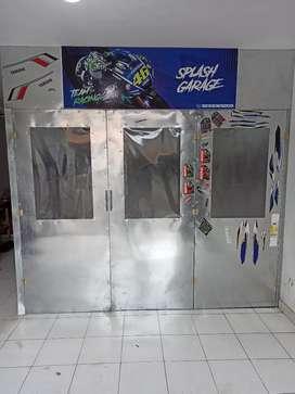 Se vende cabina de pintura para motos