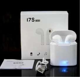 Auriculares inalámbricos i7S TWS blanco