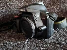 Vendo camara Nikon D3300