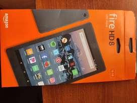Vendo Amazon Kindle Fire hd 8 16 gb