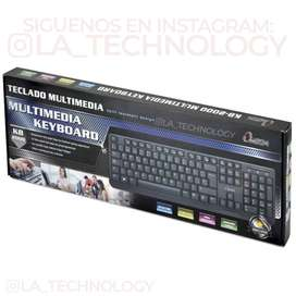TECLADO USB OMEGA KB-2000 MULTIMEDIA