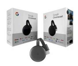 Google Chromecast tercera generacion  Original Netflix Youtube Smart