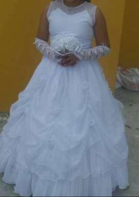 se vende hermoso vestido niña