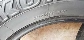 Llantas Yokohama 275 65 Rin 17 Rines 17 Toyota Campero Camioneta