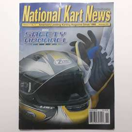 Revista de kartings Norteamericana en idioma ingles National Karts News año 2003