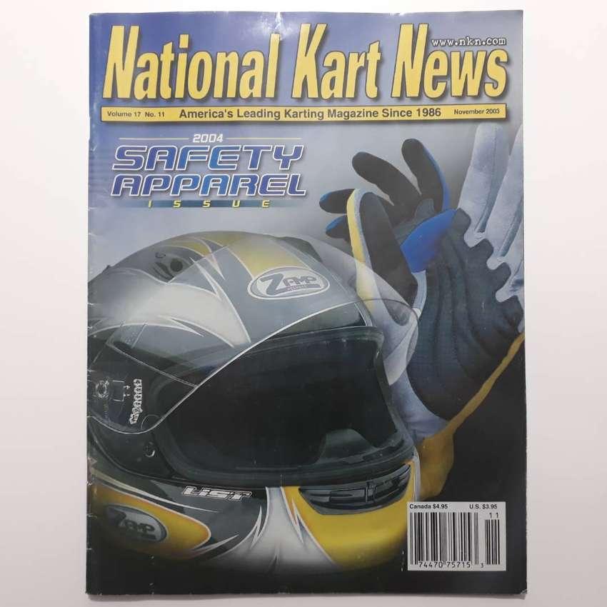 Revista de kartings Norteamericana en idioma ingles National Karts News año 2003 0