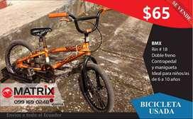 SE VENDE BMX R18