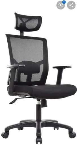 Se vende  silla ergonómica lujo