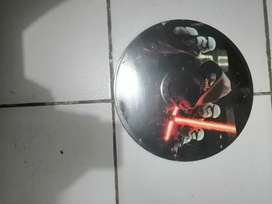 Disco vinil de estar wars