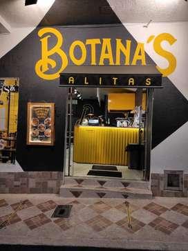 Se vende Restaurante de Alitas y costillas