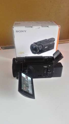 sony AX-53 filmadora 4K