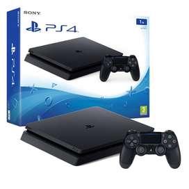 PS4 Slim 1TB +1 control +auriculares sony