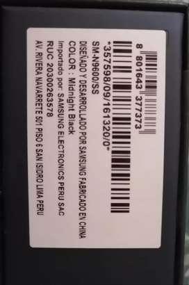Vendo Samsung Galaxy Note 9