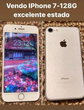IPHONE 7 - 128 GB - EXCELENTE ESTADO